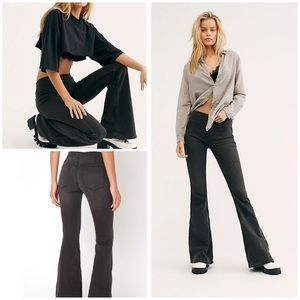 New Free People Penny Pull-On Flare Jeans